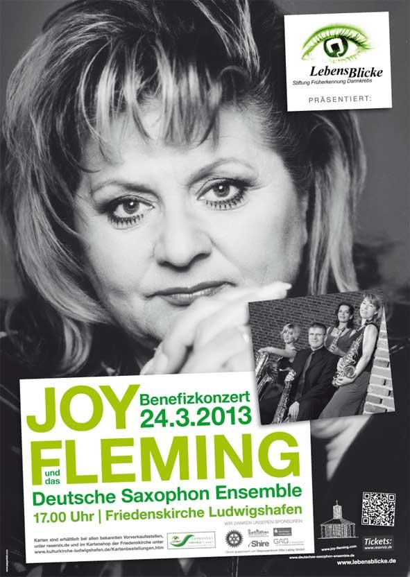 Plakat Stiftung LebensBlicke Joy Fleming