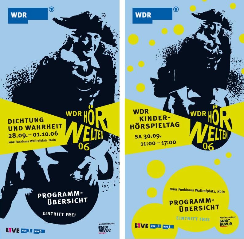 WDR Hoerwelten Gestaltung