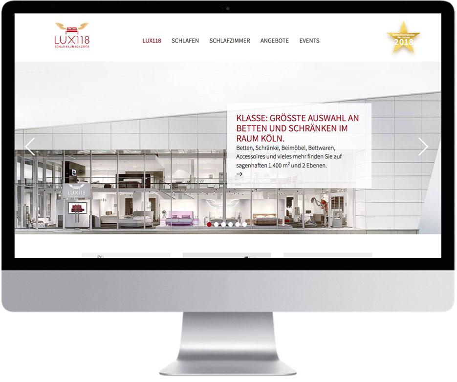 Website LUX118