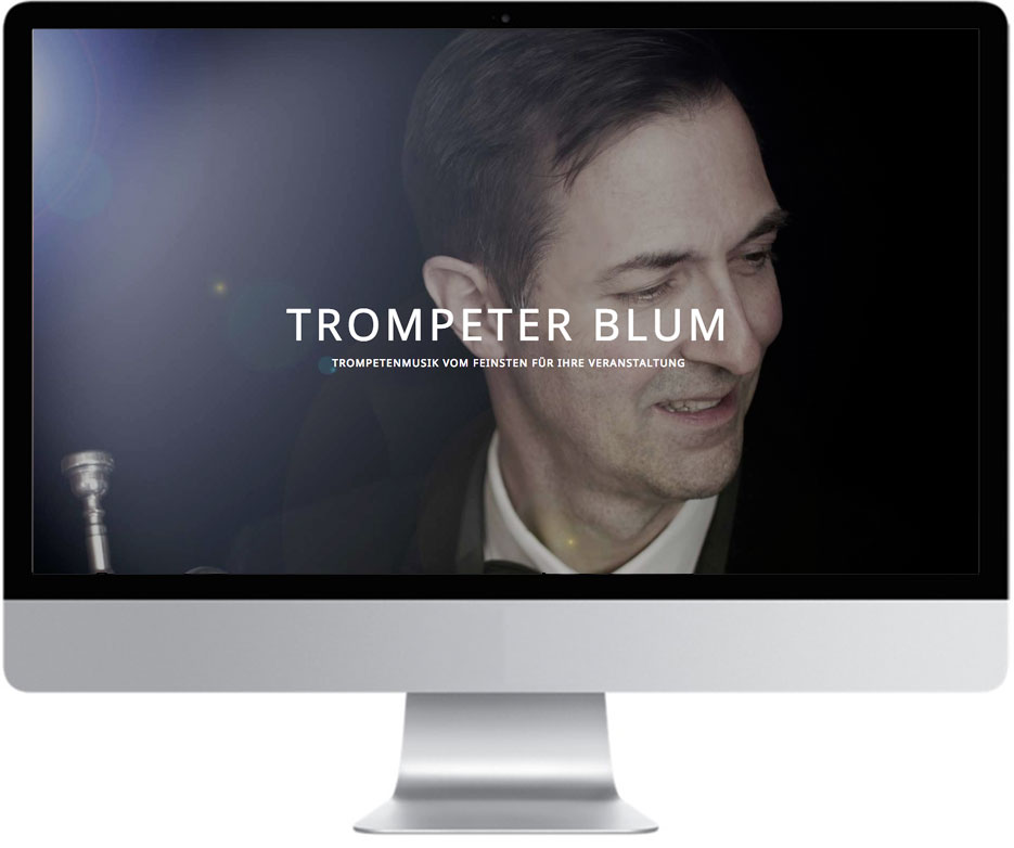 Website Trompeter Blum