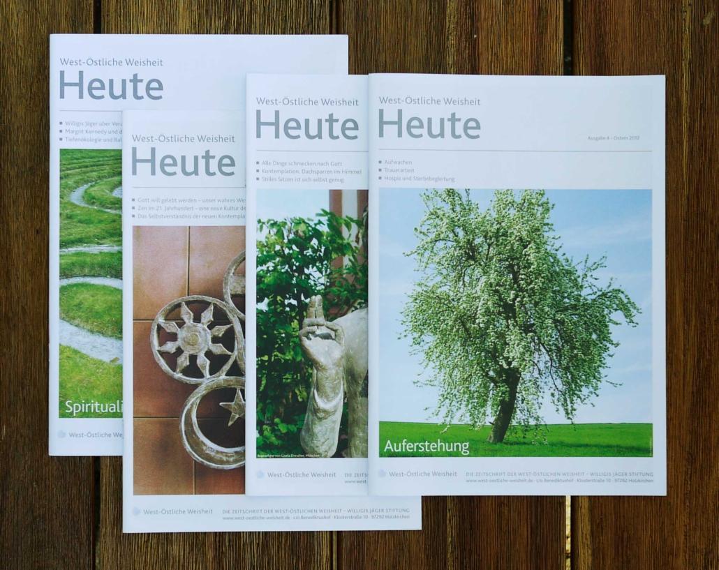 West-Östliche Weisheit HEUTE – Gestaltung von Jägerfeld Kommunikation